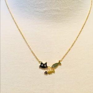 Jewelry - 🍒Adorable Fish And Cat necklace